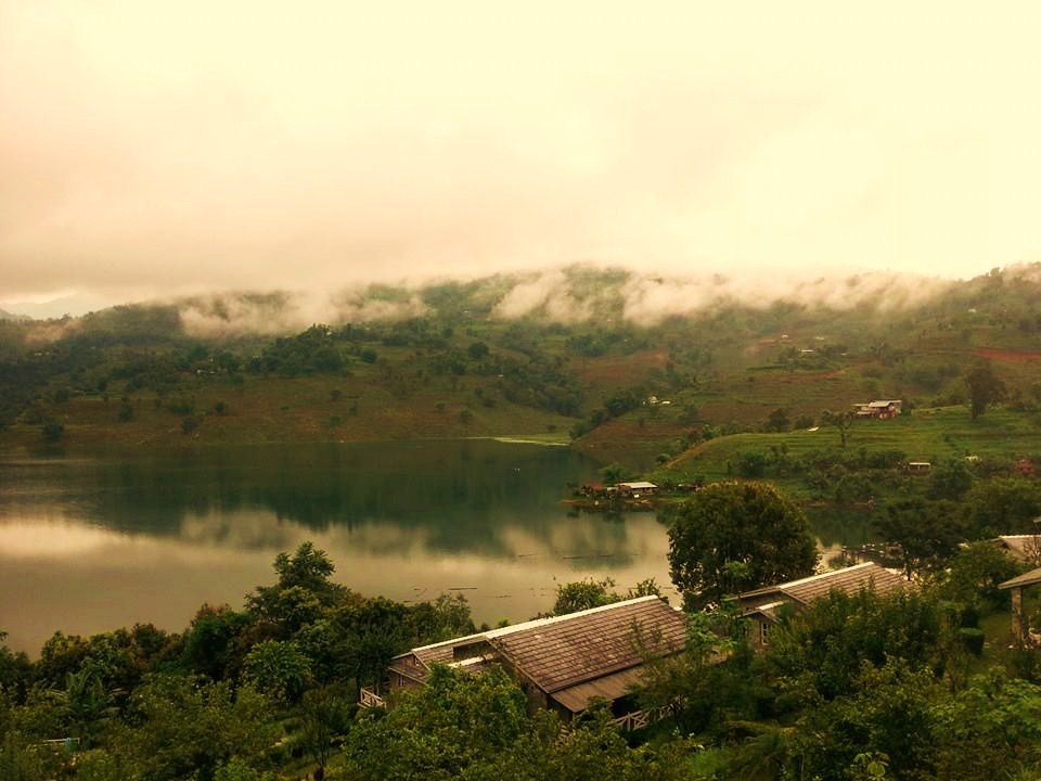 Views from Begnas Lake Resort, Pokhara