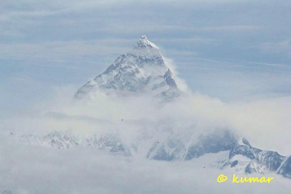 Machhapuchhre Himal (Fish Tail Himal, Pokhara Nepal)